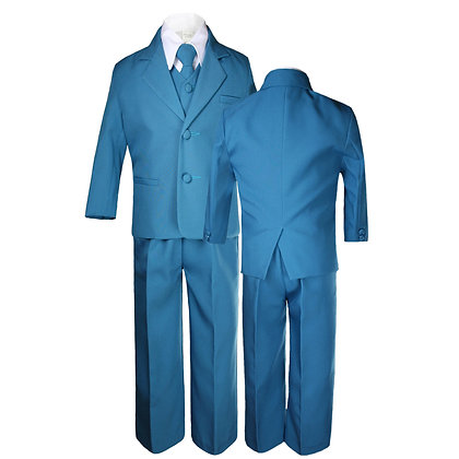 Green Teal Boys Formal Suit (S-4T)