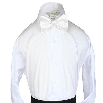 503 White Bow Tie (S-20)