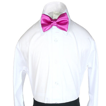 503 Fuchsia Pink Bow Tie (S-20)