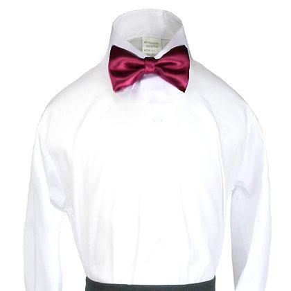 503 Burgundy Bow Tie (S-20)