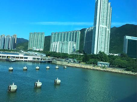 香港に到着しました。