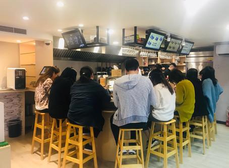 台湾アンテナショップの日本定食