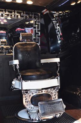 Custom Barber Chair