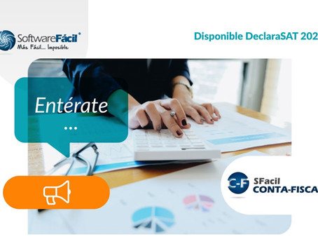 Listo programa DeclaraSAT 2020