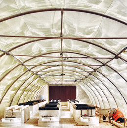 Soilless Agriculture Research Facility for Zon Gardens