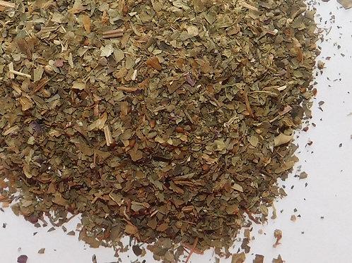 Basil leaf CO cut