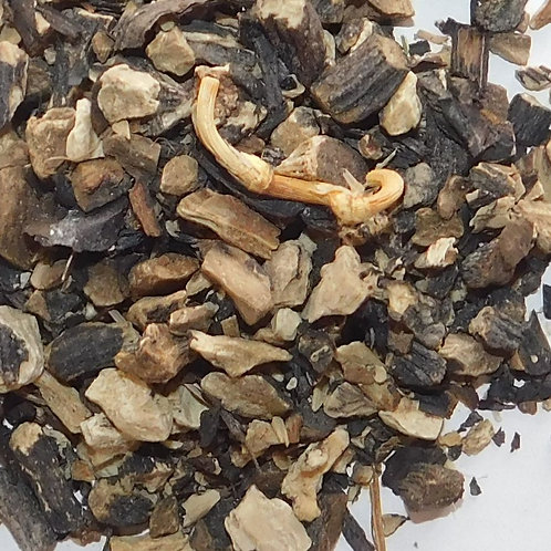 Comfrey root CO cut
