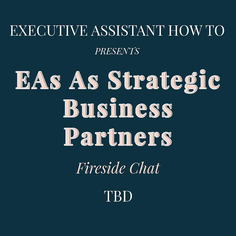 EAs As Strategic Business Partners