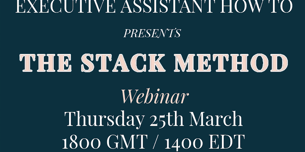 The Stack Method