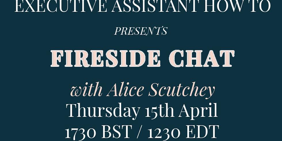 Fireside Chat - Alice & Alicia