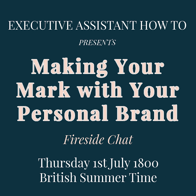 Making Your Mark with Your Personal Brand