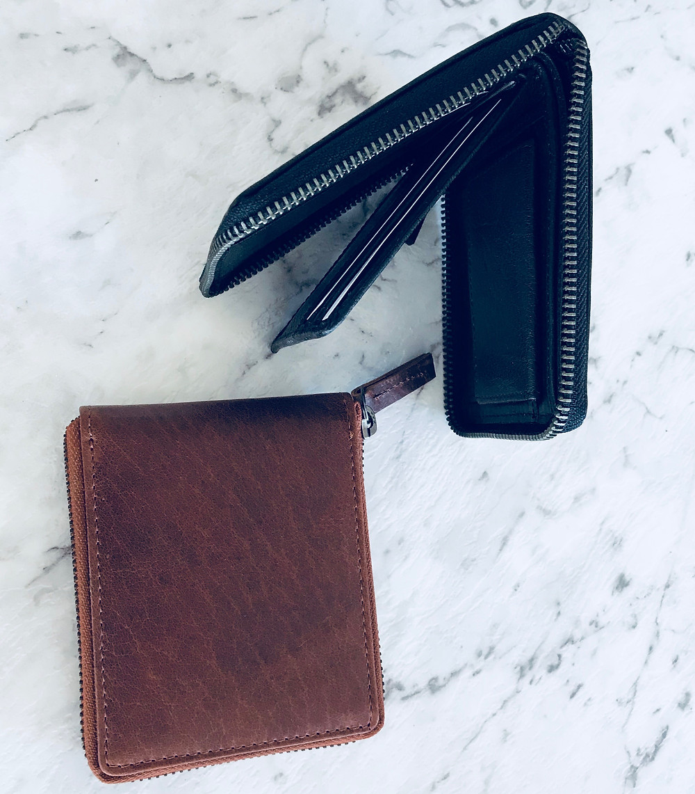 Men's Leather Wallets for Business or Leisure Travel