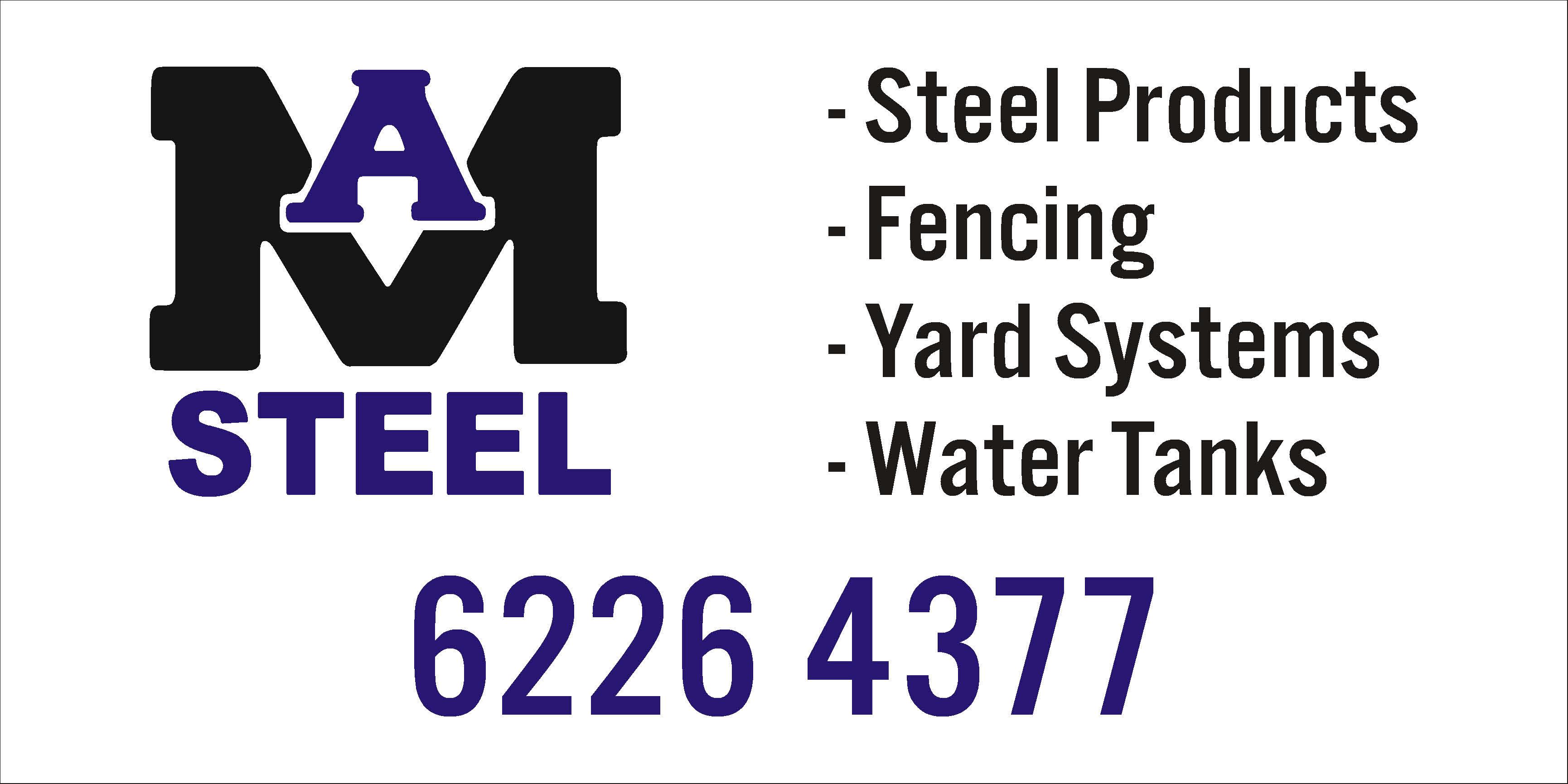 Ma Steel logo wooback