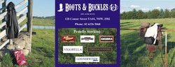 Boots & Buckles logo