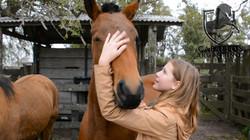 niña caballo