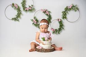 indianapolis cake smash photo shoot to c