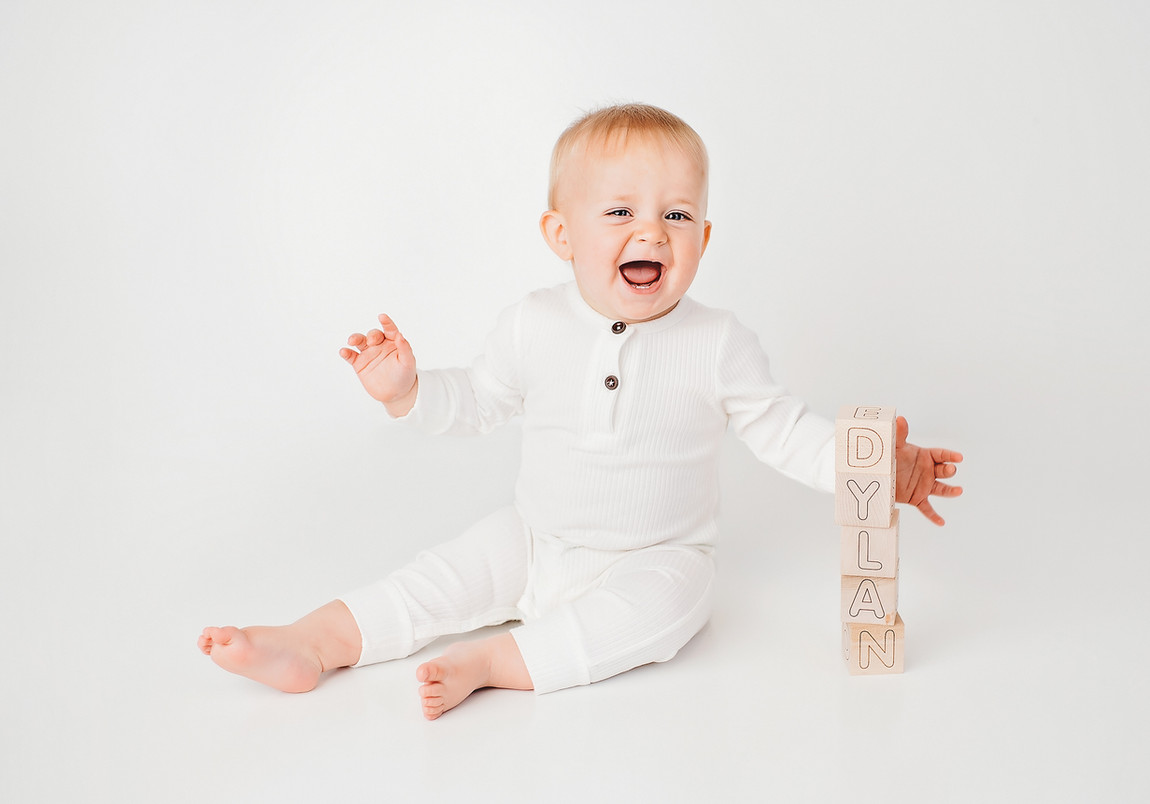baby Dylan portrait Indianapolis Photo S