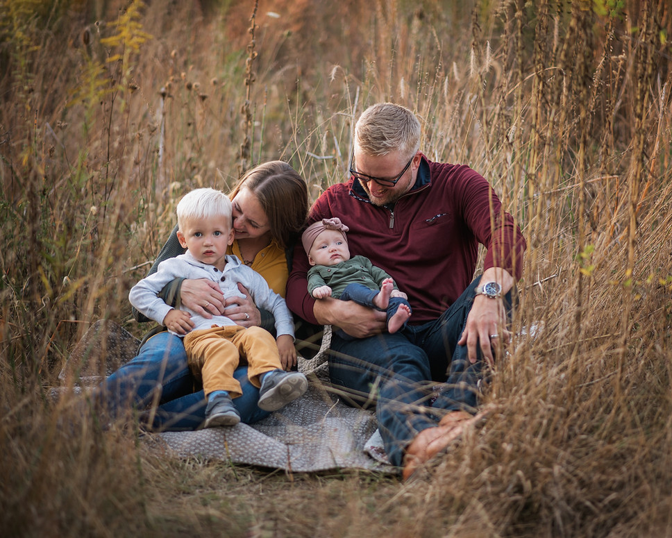 Indianapolis Family Fall Photo Session T