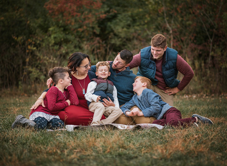 Fall Family Session Ritchey Woods Fishers Indiana