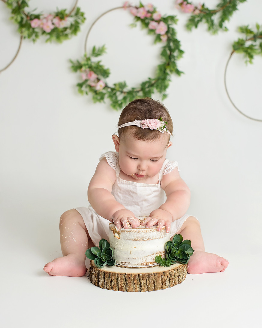 first birthday photography portraits