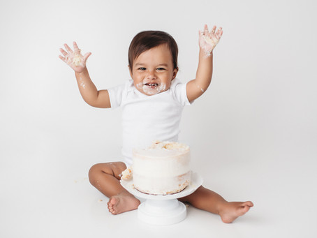 Indianapolis Kids Photographer / Baby Luke / Cake Smash