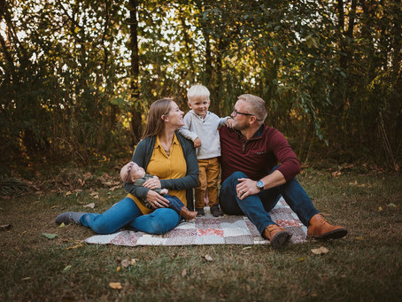 Autumn Family Photo Shoot, Carmel, Indiana