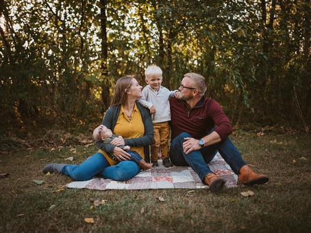 Autumn Family Photo Shoot, Carmel, Indiana