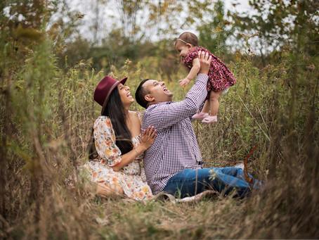 Fall Family Photo Shoot / Fishers IN / Tatiana Kahl Photography