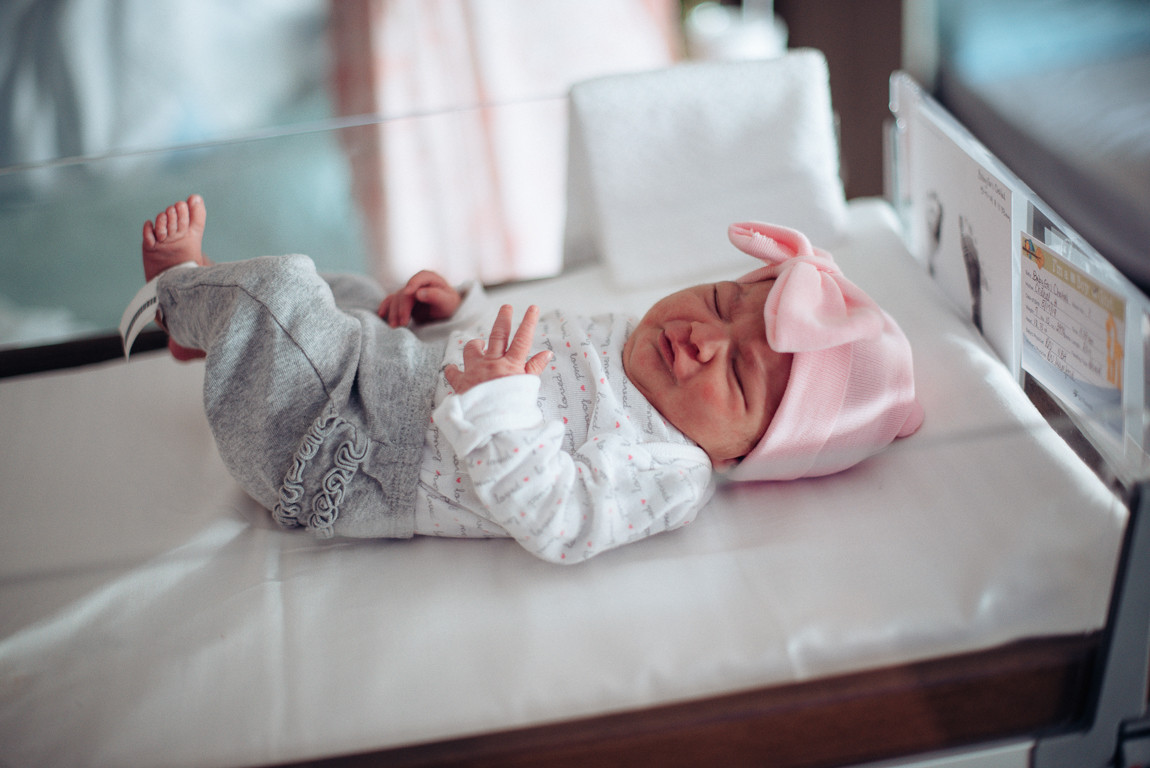 infant baby girl life style photography