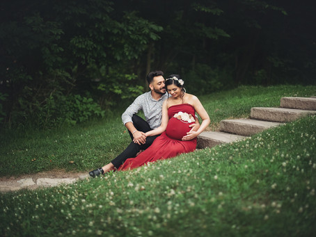 Outdoor Maternity Session Indianapolis Indiana