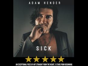 Adam Hender releases debut album 'Sick'