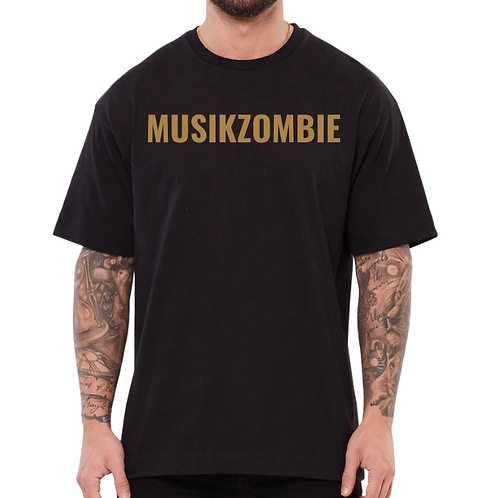 Musikzombie Gold Classic T-Shirt