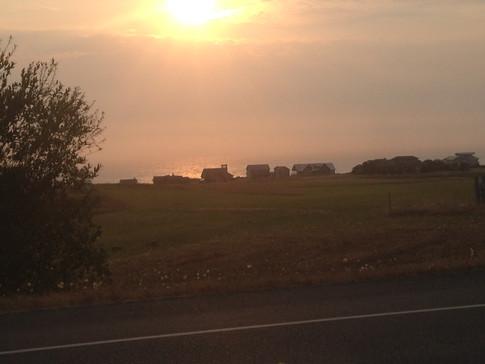 Sunset on Whidby Island