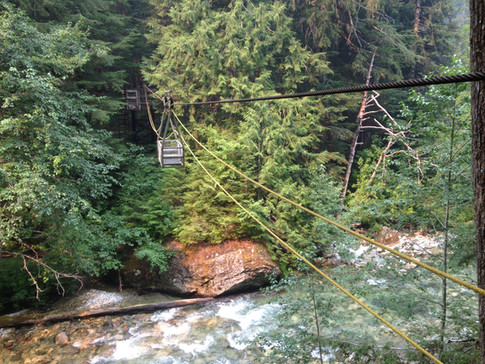 Cable car river cros