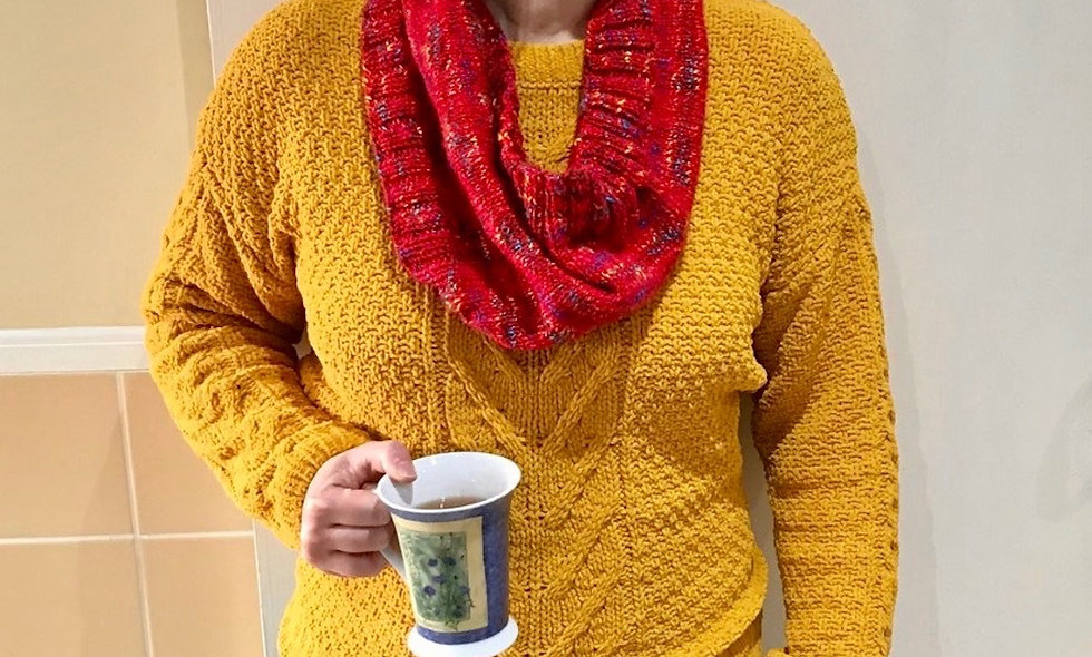 Liesl Infinity Scarf Knitting Pattern
