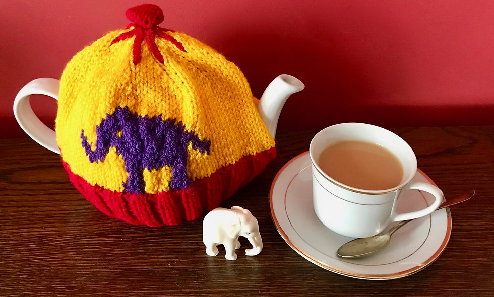 Eleanora Elephant Tea Cosy Knitting Pattern