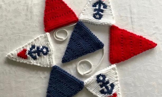 Nautical Bunting Knitting Pattern