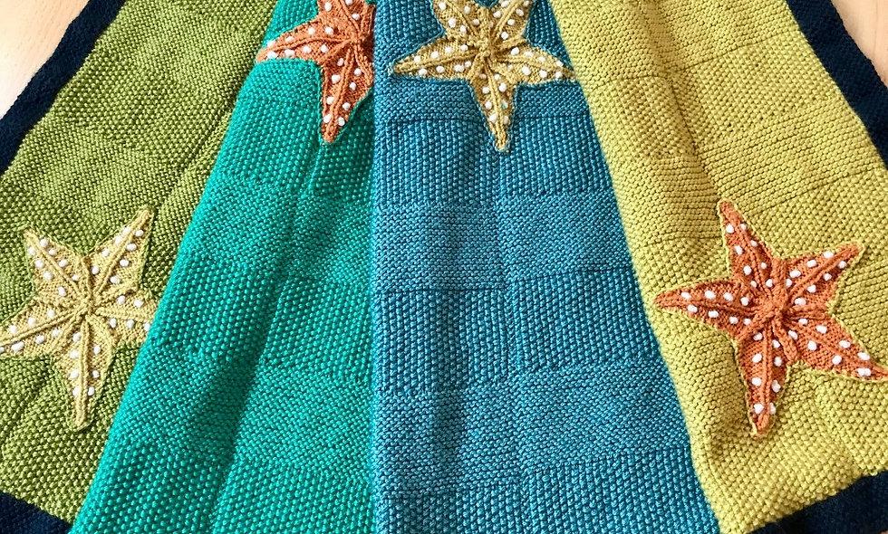 Starfish Throw Knitting Pattern