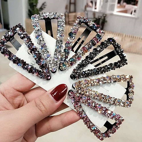 Fashion Girl Crystal Hair Clips Accessories for Women