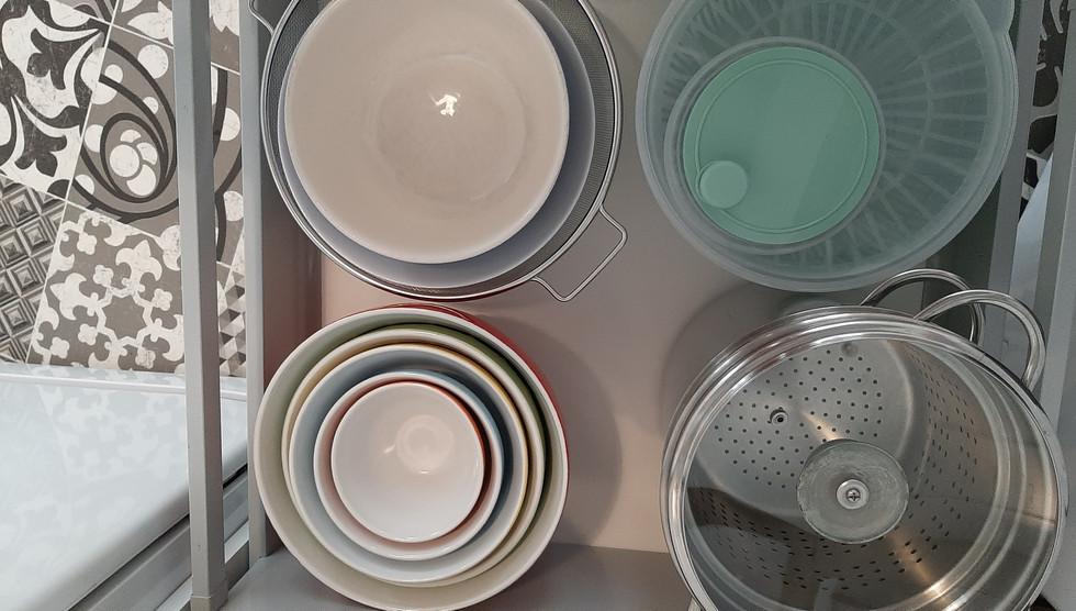 Placards : casseroles, plats...