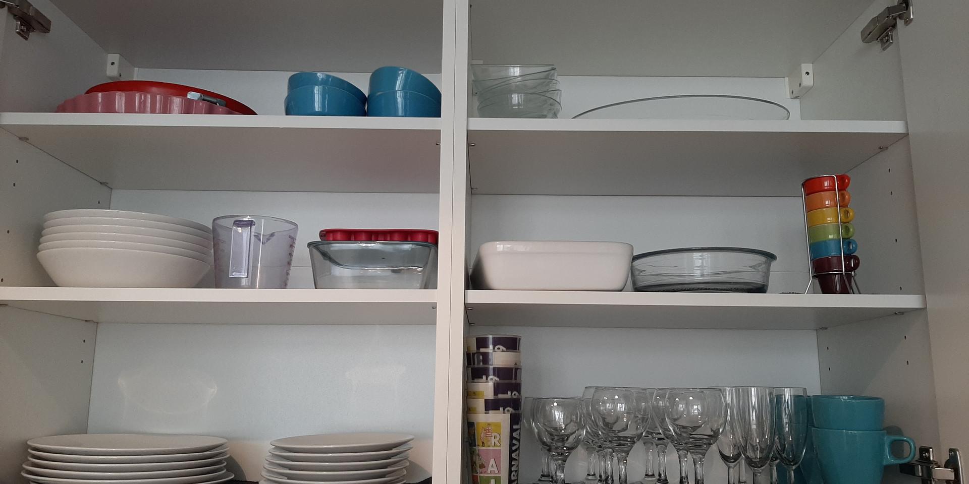 Placards  : la vaisselle