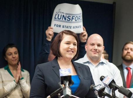 Jen Lunsford Announces Candidacy for 55th State Senate Seat