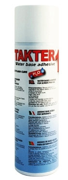 TAKTER® 1 - New Water Based Adhesive Spray