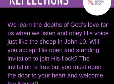 OPEN DOOR, OPEN INVITATION