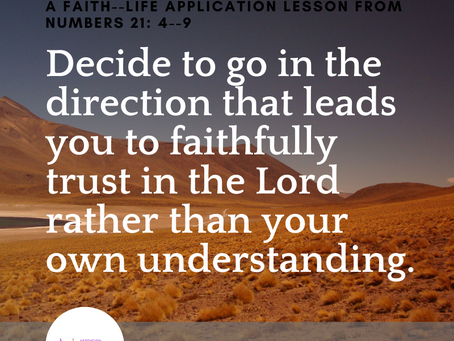 LOOK UP IN FAITH
