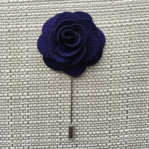 Flower Lapel Sapphire
