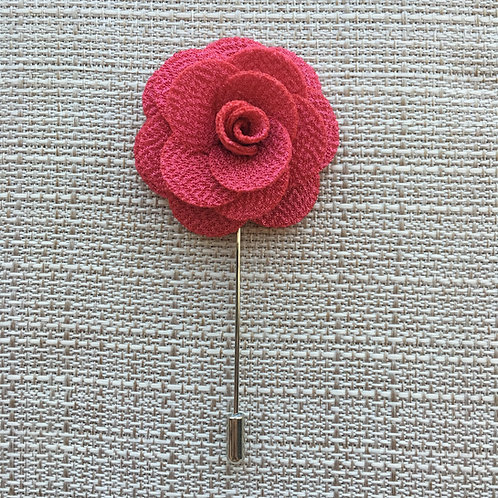 Flower Lapel Strawberry