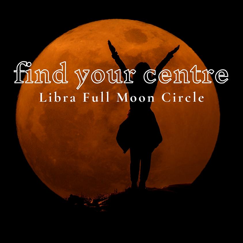 Libra Full Moon Circle