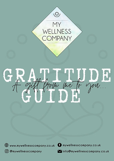 GRATITUDE GUIDE - learn how to incorporate gratitude into your life