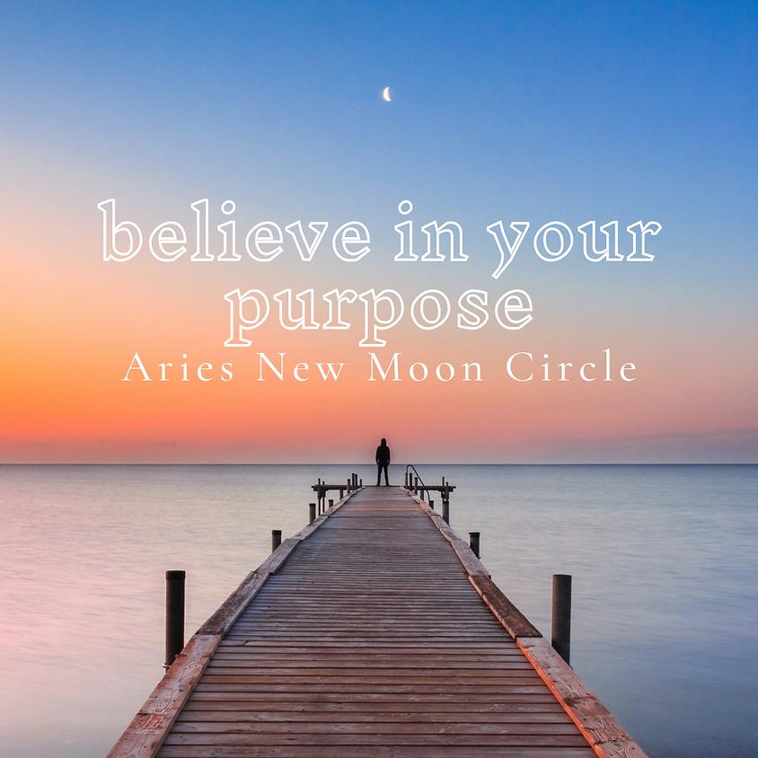 Aries New Moon Circle
